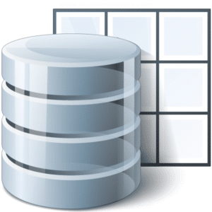database export table icon
